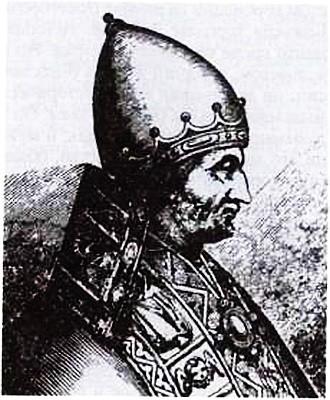 Папа Иннокентий IV. Гравюра XVII в.
