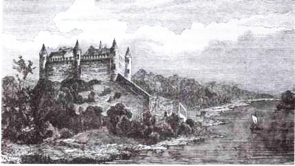 Динабургский замок. Реконструкция А. Плятера. 1893 г.