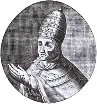 Папа Иоанн XXII. Гравюра XVII в.