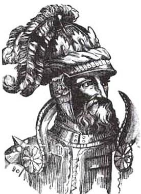 А. Бозз. Ольгерд. Гравюра XIX в. с гравюры XVI в