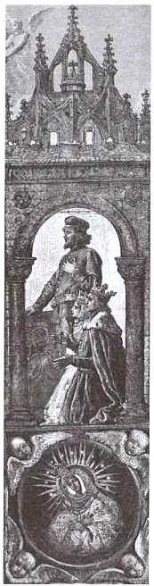В. Герсон. Ягайло, София Гольшанская, Витовт. 1895 г.