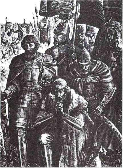 С. Харламов. Дмитрий Донской перед Куликовской битвой. 1976 г.
