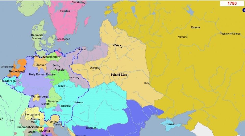 Карта Вялікага Княства Літоўскага 1780, Попыт на Беларушчыну