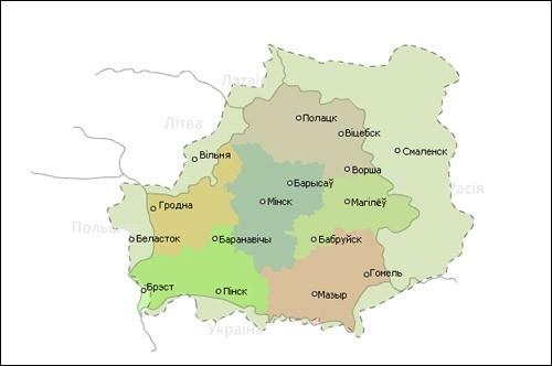 БНР Беларуская Народная Рэспубліка і сучасная карта, Попыт на Беларушчыну