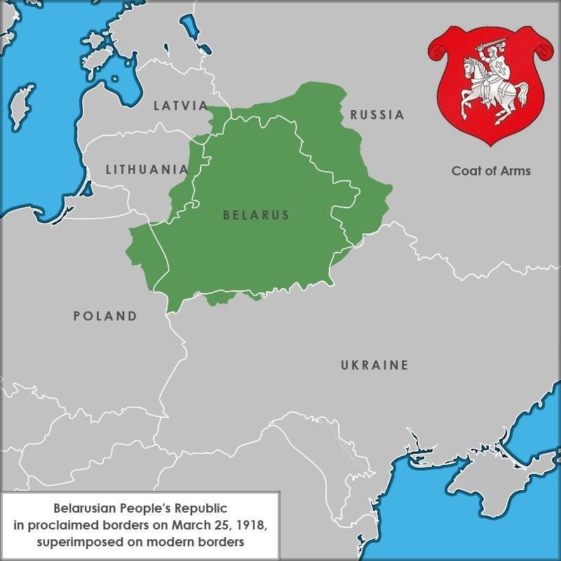БНР - Беларуская Народная Рэспубліка і сучасная карта, Попыт на Беларушчыну