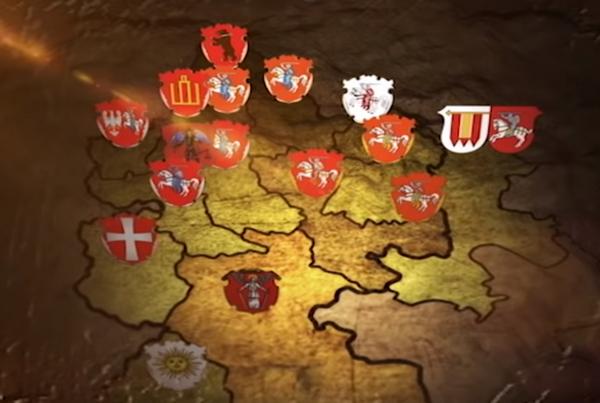 Белорусские этнические земли под гербом Погоня - Беларусь и Погоня