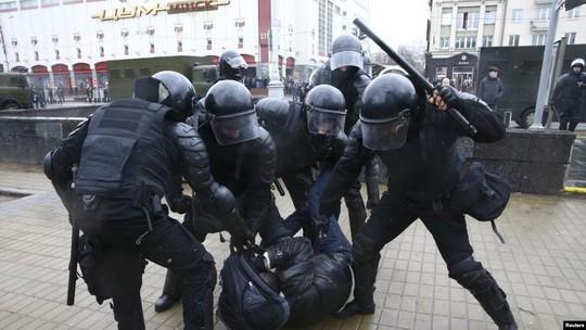 Сілавыя структуры Беларусі Міліцыя Беларусі